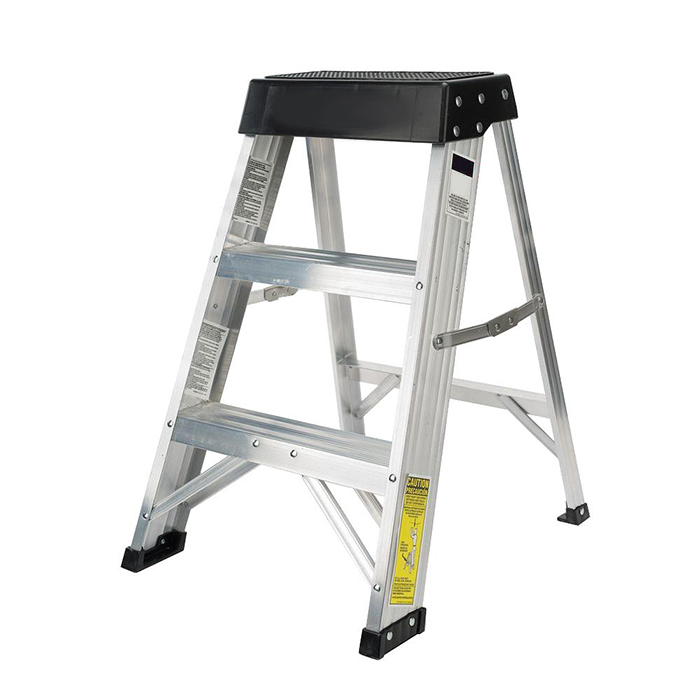 Fiberglass Step Ladder With 375 Lbs Load Capacity Type 375